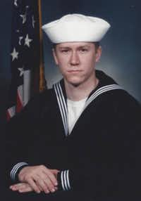 While in the Navy, Justin Beatty was deployed to the Persian Gulf three times, the first in December 2001.