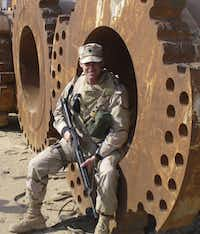 Jeff Hensley, who served two tours in Iraq, says he had trouble readjusting to civilian life.