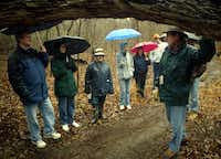 Garland's 70-acre Spring Creek Forest Preserve, where city landscape architect Tom Frey led a tour in 2006, is undergoing a $2.5 million trails project.