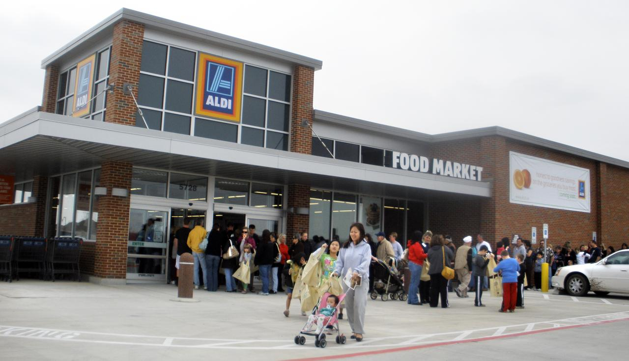 Aldi sees potential for 450 stores in Texas
