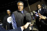 Dwaine Caraway conceded in his race against County Commissioner John Wiley Price last week.( Tom Fox  -  Staff Photographer )