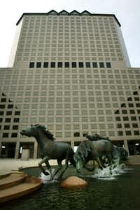 The Williams Square complex in Las Colinas sold early this year for about $160 per square foot.