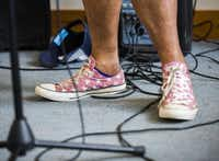 """Adamiria Green, who has attended the camp for eight years, isn't afraid anymore to show the burn scars on her legs. """"Camp is a safe place,"""" she says.(Ashley Landis - Staff Photographer)"""