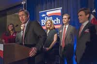 Dan Branch, a state representative from Dallas, has to persuade hard-line conservatives to abandon their allegiance to Paxton.Rex C. Curry - Special Contributor