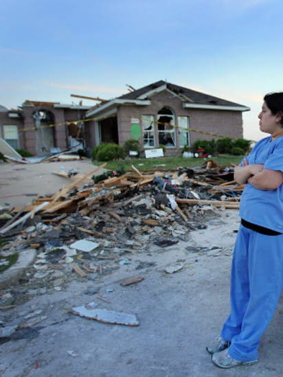 Tornado Tore Apart Forney Family S Home And The Life They Began