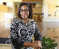Educator Carolyn King Arnold  replaced Dwaine Caraway on the City Council in Oak Cliff's District 4.((Ron Baselice/Staff Photographer))