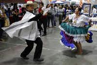 Fiesta Latinoamericana, Dallas' largest Latino cultural festival features two stages of music and dance, a Parade of Nations, the Children's Discovery Center and more, all for free. Sept. 28 at Klyde Warren Park, Dallas. dfwinternational.org.( Garett Ray Fisbeck  -  Staff Photographer )