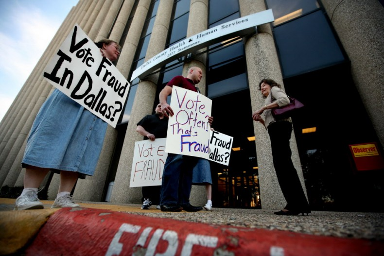 Rare Texas Voter Opinion Fraud The Boogeyman Politics Dallas News Of