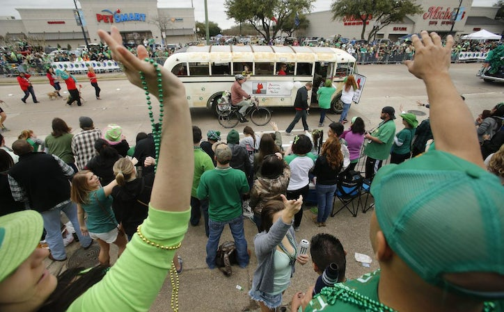 PHOTOS: The annual St  Patrick's Day Parade and Dash Down