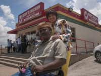 When Rudolph Edwards and wife Linda Shaw Edwards opened Rudy's Chicken on South Lancaster Road, it was an instant hit.