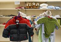 <TypographyTag13>The Richardson-North Dallas Family Clothing Center</TypographyTag13>provides free clothing for all adults and children residing in a household six times over a period of 12 months. <252>(Kye R. Lee)