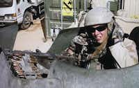 "U.S. Army Sgt. Michael ""Luke"" Boatright was killed by an improvised explosive device in Baghdad in December 2004. The combat engineer was 24.(copy - Staff Photographer)"