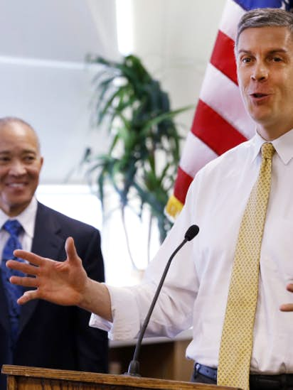 Our Next Secretary Of Education Should >> Point Person Our Q A With Education Secretary Arne Duncan