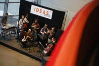 James Mohamed performs with Daverse Lounge at the Ideas Stage during Dallas Festival of Ideas at Winspear Opera House.( Nathan Hunsinger  -  Staff Photographer )