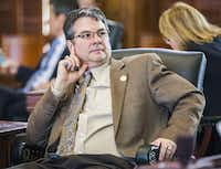 """You put the money in the hands of the people, then they usually make decisions that determine what's good,"" says Sen. Charles Perry, R-Lubbock.( Ashley Landis  -  Staff Photographer )"