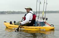 Jim Dolan of Allen is the founder and president of Heroes on the Water, a local nonprofit organization that organizes kayaking outings for wounded veterans.
