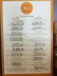 A menu of sponsorships for pieces of the restaurant is part of Cafe Momentum's focus on fostering a sense of ownership.(Chad Houser)