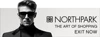 A billboard for NorthPark illustrates the style of Banowetz + Co.