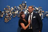 Alyssa and Nayeem Mohammed  exchanged Facebook messages for a few weeks before they went on a dinner date.(Ben Torres - Special Contributor)