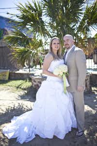 Ryane and Cale Criswell at their Nov. 6, 2010 wedding.