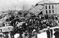 The March 18, 1937, explosion at the New London school in East Texas killed an estimated 300 students, teachers and others.