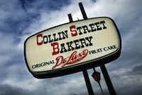 Collin Street Bakery in Corsicana.MICHAEL MULVEY