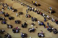 The Chickasaw Nation of Oklahoma has spent millions in upgrades of Lone Star Park since acquiring the track in 2011. But attendance at tracks in Texas has dipped from 3.3 million in 2000 to below 1.5 million a year in 2013.( Tom Fox  -  Staff Photographer )