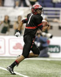 Cedar Hill quarterback William Cole turned in one of the most memorable performances in state championship history Saturday, rushing for 290 yards and three touchdowns in a 51-17 rout of Cypress Falls.ERICH SCHLEGEL - DMN Archives