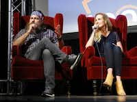 Willie (left) and Korie Robertson of the reality television show