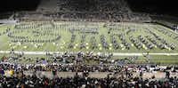 The Allen Eagle Escadrille will not be performing on its home turf this season, but it will still travel with the football team every week.Photo by Matt Strasen  - special contributor