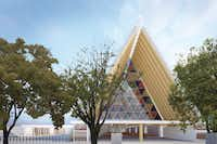 The Cardboard Cathedral will stand as a universal symbol of Christchurch, New Zealand's recovery. The five-story-high ÒCardboard CathedralÓ is soon set to replace iconic Christchurch Cathedral, irreparably damaged in the quake.