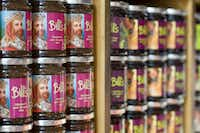 Jams and jellies from Bill's Produce Store are made on a farm in Lewes, 10 miles outside of Brighton.