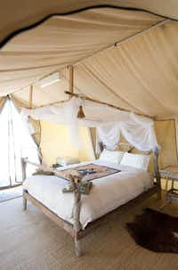 Gawler Ranges Wilderness Safaris' Kangaluna Camp may be in the middle of wild outback where wandering off by yourself is ill-advised, but offers every creature comfort.