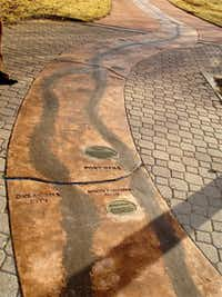 Follow The Chisholm Trail In Oklahoma Travel Dallas News - Chisholm trail map