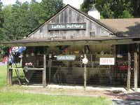 Lufkin Pottery, one of more than 60 potteries in Seagrove, N.C.