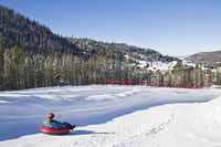 The Coca-Cola¨ Tubing Hill at Winter Park Resort, Colorado opened in 2012.