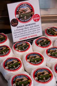 Foggy Morning  is one of Nicasio Valley Cheese Co.'s cheeses.( April Orcutt  -  Special Contributor )