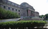The Brooklyn Museum in the Crown Heights neighborhood houses Egyptian artifacts.