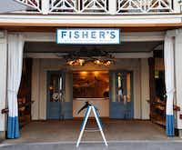 Fisher's, in Orange Beach, AL, is two restaurants in one: the casual Dockside and the beachy but elegant Upstairs.