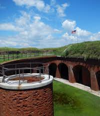 The military fort dates to 1859.(Bruce N. Meyer -  Bruce N. Meyer )