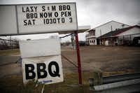 Another stop was at Lazy Lazy S&M BBQ in Joshua.Tom Fox  -  Staff Photographer