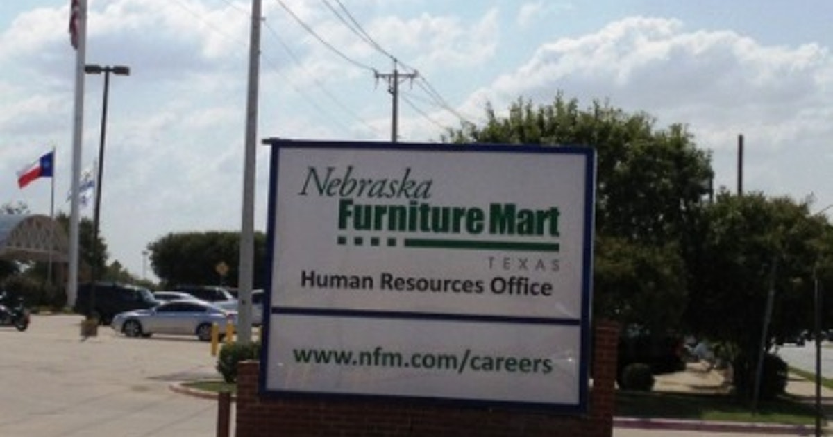 Nebraska Furniture Mart Hiring Office In The Colony Isn 39 T Open Yet Business Dallas News