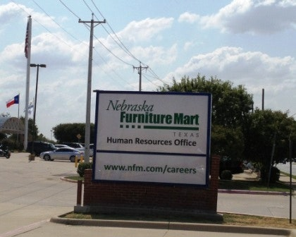 Nebraska Furniture Mart Hiring Office In The Colony Isnu0027t Open Yet |  Business | Dallas News