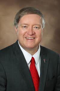 Texas Tech University President M. Duane Nellis. (Courtesy of Texas Tech University)