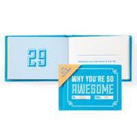 Count the ways: This little book offers 50 ways to tell someone how they are special. Just fill in the blanks with a personal comment — heartfelt or humorous — meant specifically for your valentine. Why You're So Awesome gift book, $9.95 at Z Gallerie stores and zgallerie.com.