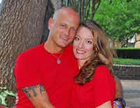 Crandall Police Sgt. Nick Pitofsky and his wife, Vanessa, were found dead Wednesday in their home on Browder Street.( Vanessa Pitofsky )