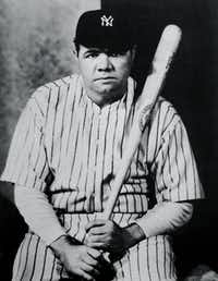 Nickolas Muray photographed Babe Ruth in 1927.( Nickolas Muray  -  PDNB Gallery )