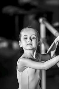 "Russian ballerina Anna Tsygankova, the sister of pianist Sofya Tsygankova, posted on Facebook that her niece Nika Kholodenko, 5, ""loves dancing, just like her aunt."" (Facebook)"