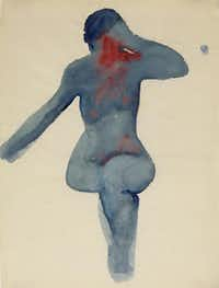 Nude Series VIII was painted in 1917.( Georgia O'Keeffe Museum  - Georgia O'Keeffe Museum)