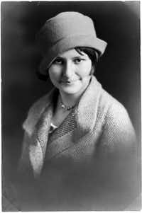 """Claudia """"Lady Bird"""" Taylor (circa 1930) was shy and reticent as a young woman."""
